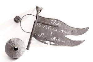 Vocaturi-arte-del-ferro-lavoro-di-restauro-banderuola-prima