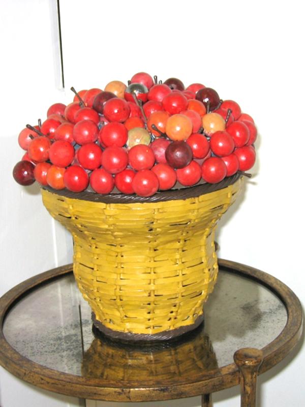 cesto di ciliegie cod115