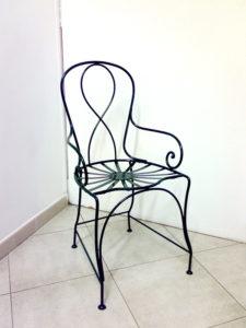 sedia-giardino-in-ferro-semplice-cod61