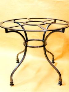 tavolo circolare IN FERRO COD 167