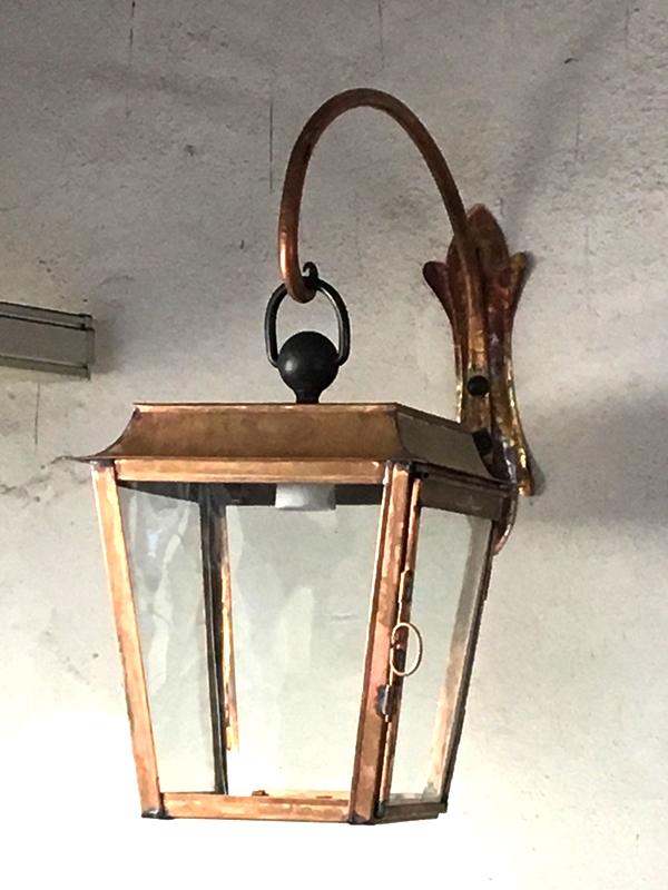 Lampione con mensola cod227