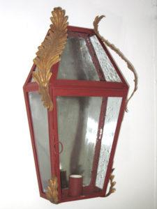 Lampione da parete cod165