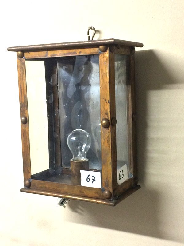 lampione da parete cod220