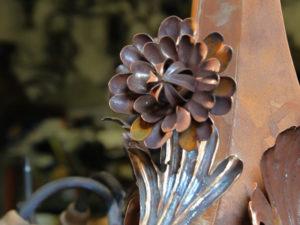 fiore in ferro cod178