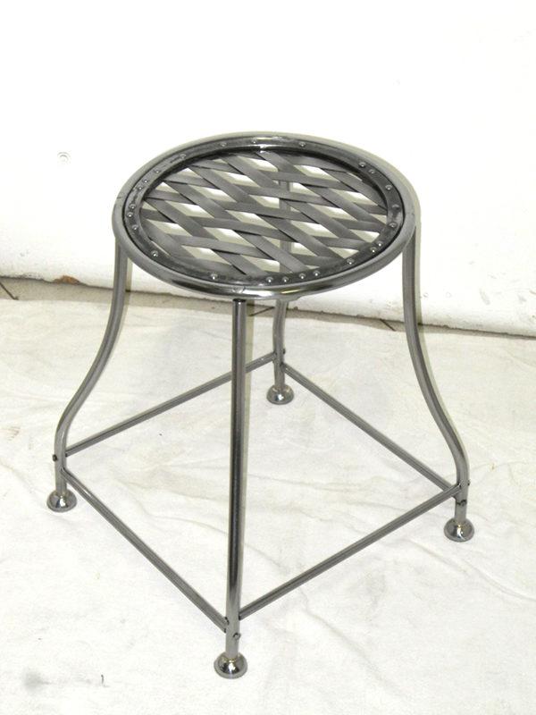 sgabello-circolare in ferro COD186